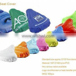 promotional cheap bicycle saddle cover