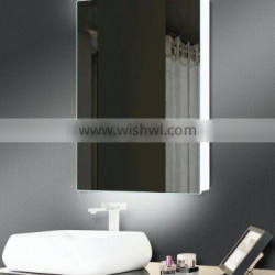 Cheap Hotel Bathroom mirror lighted cabinet with backlights