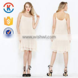 Latest office ladies simple fashion casual dress of women sexy party new design