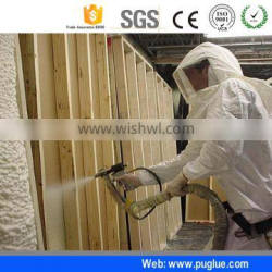 pu polyurethane foam chemical polyol/polyurethane foam spray for insulation