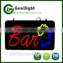 New Beer Cup Brewer Bar Pub Club LED Light Sign