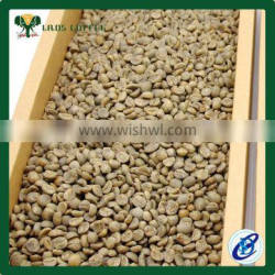 price of raw coffee beans