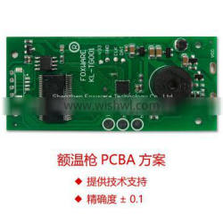 Non contact IR Forehead Thermometer PCBA Solution