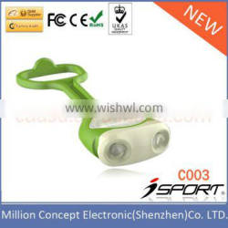 Dual Batteries LED Front Bicycle Lights
