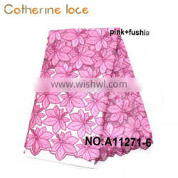 Catherine Korea Handmade Products To Sell African Lace Fabric With Embroidery
