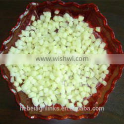 Frozen style Chinese new crop apple dice