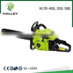 Safety Operation Gasoline Chain Saw 5800 with CE GS EMC EU-II HLYD - 58G