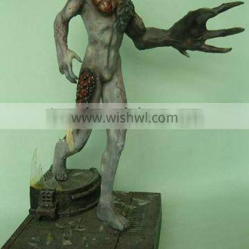 OEM monster resin action figures,custom made figurine for collectible
