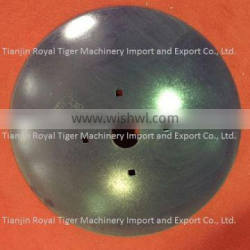 Plow disc mounted on disc plow as agricultural machinery parts for soil tillage, 65 Mn steel