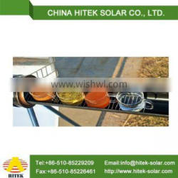 Solar thermal system horizontal pipe solar oven reflection film