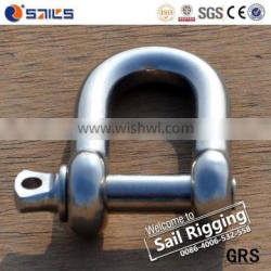 us type stainless steel adjustable dee shackles g210