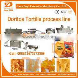 double screw Mexico Nacho chips dorito chips snack food machinery