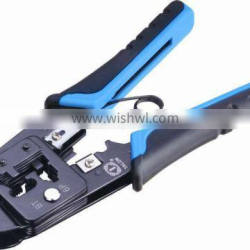 Dual-Modular Plug Crimps,Strips&Cuts Tool