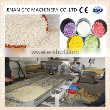 hot hot Extruded Instant Artificial Nutritional Rice Processing line