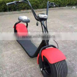 2017 factory indeed cheapest 18x9.5-8inch tire 60V1000W brushless gearless motor electric bike fat tire citycoco 8