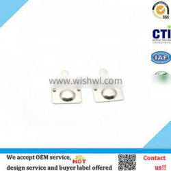 Electrical equipment accessories nickel plated battery terminal battery contact plate