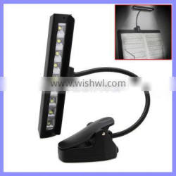63LM 9 LED Clip On Black Flexible Gooseneck Orchestra Music Stand Lamp