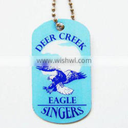 2016 cheap promotional aluminum printing dog tags for wholesale