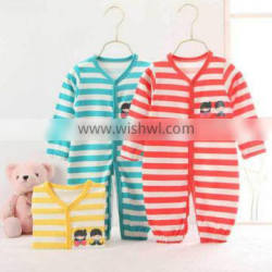 2016 Baby clothes newborn 100% cotton baby romper long sleeve infants pyjamas import from china