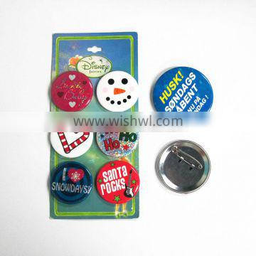 Smiley Face style optimistic life button badges lapel pin emoji