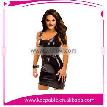 Female Sexy Lingerie Corset Dress Stockings G-string Outfit Dress Set