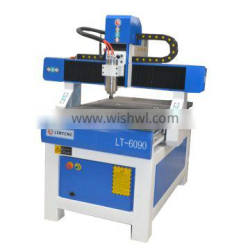 wood engraving machine 6090 with vacuum pump,1.5kw water cold Spindle,Mach3 or NC-Studio Operating System