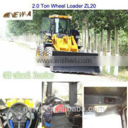 NEW 2.0Ton ZL20 CE Chinese wheel loader