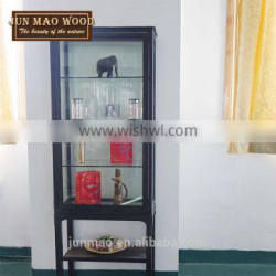 Chian Cheap Wholesale Antique Wine Glass Display Showcases