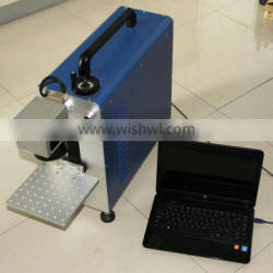 fiber laser marking machines with CE, ISO9001:2008 and Patent