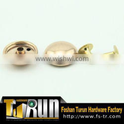 Metal decoration studs for clothing stamping rivets
