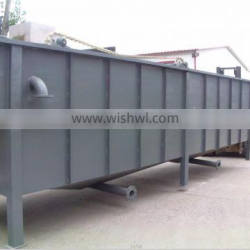 TSS suspended solids waste remove cavitation air flotation machine (CAF) for oily water treatment