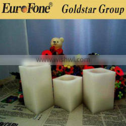 2016 newest LED flameless battery operated wax candles light