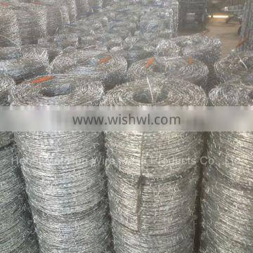 Hot dipped galvanized Barbed Wire/fence