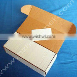 Blank white pvc cards CR80 size