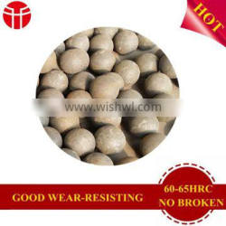 70Mn2 2.5inch forged steel ball for gold mine
