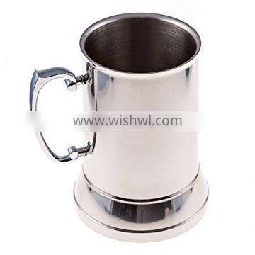 2016 New 400ml Stainless Steel 304 Double Wall Mug With Heavy Base