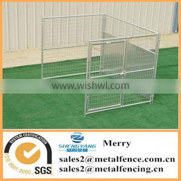 6'x8' dog kennel add on with fight guard divider