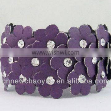 new products wholesale leather bracelet from China supplier