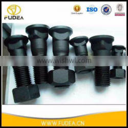 Hot forging different sizes security bolt