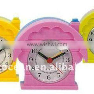 lowest price travel quartz analog alarm clock