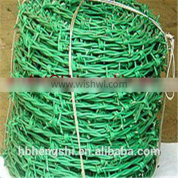 Anping factory Cheap Barbed wire length per roll /barbed wire fence/barbed wire price alibaba express