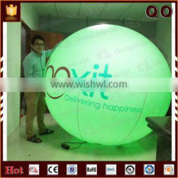 Best price giant inflatable helium ball color changed balloon with light inside