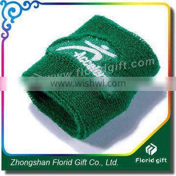 Promotion Embroideried Terry Cotton Wristband/Sweatband