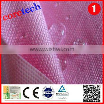 durable breathable 600d polyester waterproof fabric factory