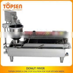 Mini Size Snack Fast Food Store Donut Making Machine For Sale