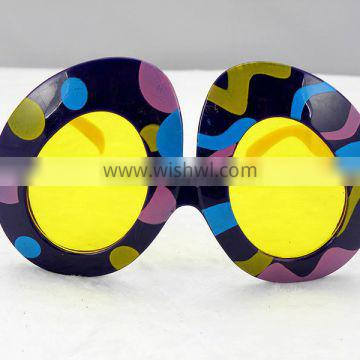 Colored eggs funny design party glasses