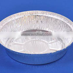 7 inches round takeout aluminium foil pan with dome plastic lid