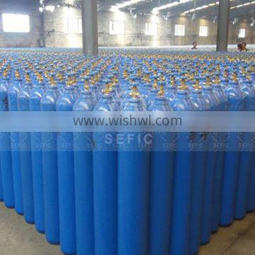 Newly DOT/TPED High Pressure with CGA/QF Valve Nitrogen gas cylinder