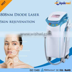 Abdomen Apolomed Laser 808 Diode Hair Removal Machine Hair Remove Laser Diode Black Dark Skin