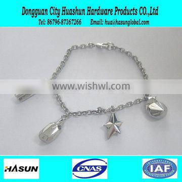 top design female elegant charm bracelet silvering